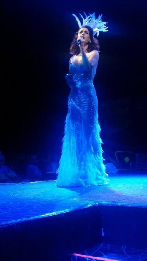 """Mitzy ha realizado el vestuario de obras de teatro como """"Aventurera"""", en México, además de programas de televisión y parte de los show de famosas intérpretes. (Foto: Mitzy)"""