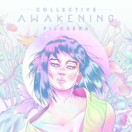 Portada de Collective Awakening, segundo disco de Filoxera. (Foto: Diseño: Light am-pm)