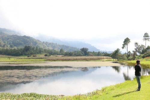 En la laguna de Chichoy puedes descansar y olvidar el estrés. (Foto: María José Meza/Soy502)