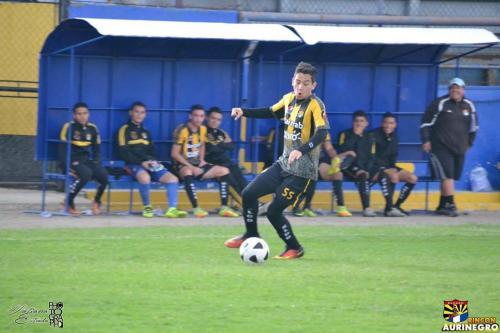 José Manuel Morales, hijo de Jimmy Morales, en su paso por las inferiores del club Aurora. (Foto: Tatiana Estrada)