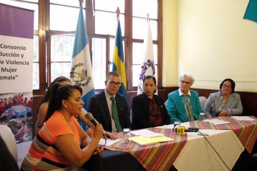 En la conferencia de prensa de la OSAR aseguraron que una de cada cinco adolescentes de entre 15 y 19 años ya ha sido madre o está embarazada. (Foto: Manuela Trillos/Soy502)