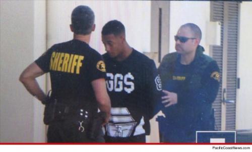 Lil Za, amigo de Justin fue arrestado por posesión de cocaína.