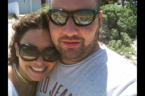 Roberto Barreda aparece con Margarita Meléndez, la imagen fue recuperada de aparatos electrónicos. (Foto: Archivo)