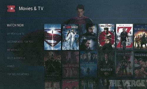 El servicio, que vendría a reemplazar a Google TV, tendría un menú bastante similar a sus principales competidores. (Foto: The Verge)