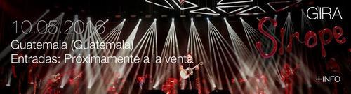 "Alejandro Sanz se encuentra presentando la gira ""Sirope""."