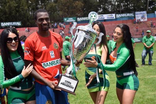 """Municipal se quedó con el trofeo de """"La Gran Final"""" organizada por Cementos Progreso. (Foto: Javier Grazioso/Soy502)"""
