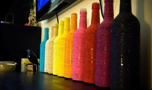 Puedes buscar lazos de colores o pintarlos tu mismo. (Foto: Pinterest)