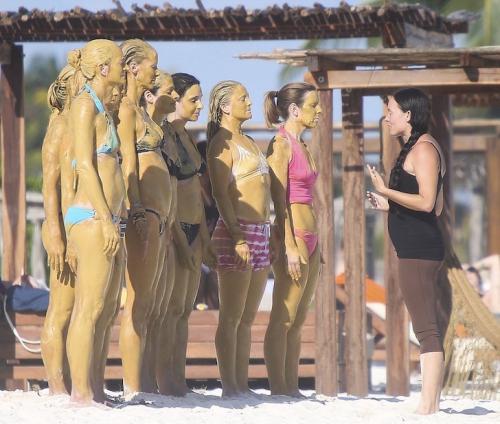 la actriz escapa con sus amigas ha tratamientos alternativos de belleza. (Foto: VEM)