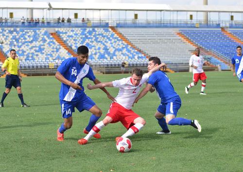 La Selección de Guatemala disputó partidos amistosos contra El Salvador, en Estados Unidos. (Foto: Nuestro Diario)