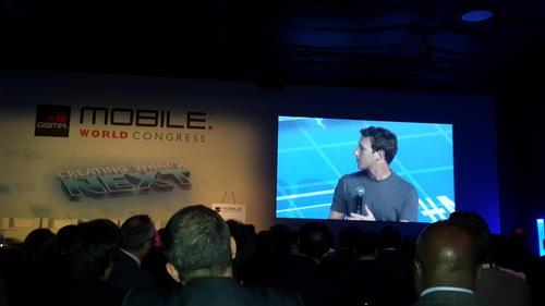 Mark Zuckerberg, durante su conferencia. (Foto: Devadit Barahona)