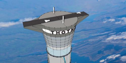 La construcción del proyecto tendrá un costo de 5 a 10 millones de dólares y llevaría de 3 a 5 años completar la torre de demostración. (Foto: Thoth Technology)