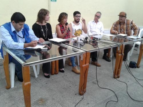 El Festival de la Juventud fue presentado por algunos de los organizadores durante una conferencia de prensa.