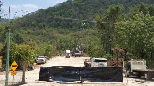 Según la alcaldesa Asensio no se puede detener la construcción porque ya se vendieron todos los lotes. (Foto: Cortesía Julio Sicán/Proceso Gt)
