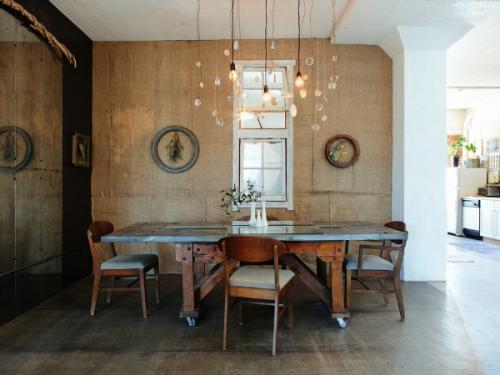 Los paredes de fibras naturales lucen elegantes. (Foto: Albañiles)