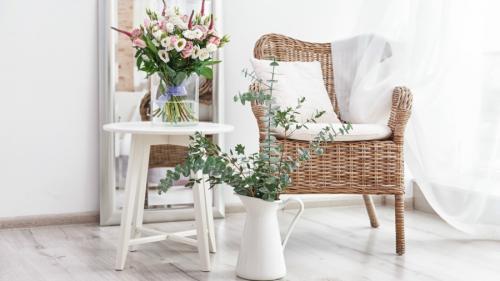 Los muebles de mimbre lucen hermosos. (Foto: elsalvador.com)