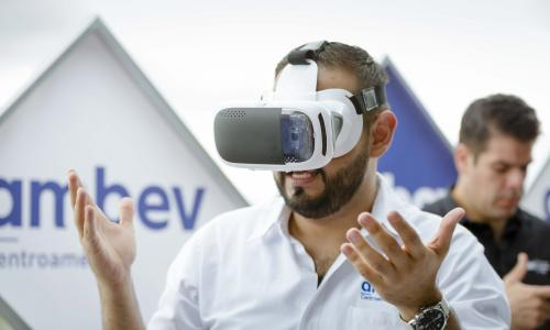 El recorrido se puede realizar utilizando lentes de realidad aumentada y cualquier smartphone. (Foto: George Rojas/Soy502)