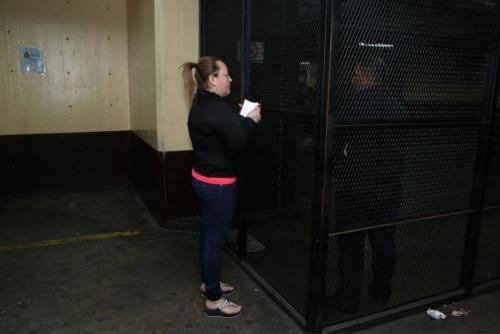 La hija de Gloria Torres fue detenida por el caso del asesinato de Byron Lima. (Foto: Andrés Girón/Nuestro Diario)
