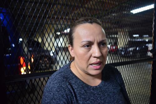 """Sara Elizabeth Cruz Mansilla, esposa de """"El Taquero"""". (Foto: Jesús Alfonso/Soy502)"""