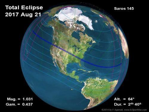 Esta es la cobertura del eclipse. (Ilustración: Cortesía Edgar Castro Bathen)