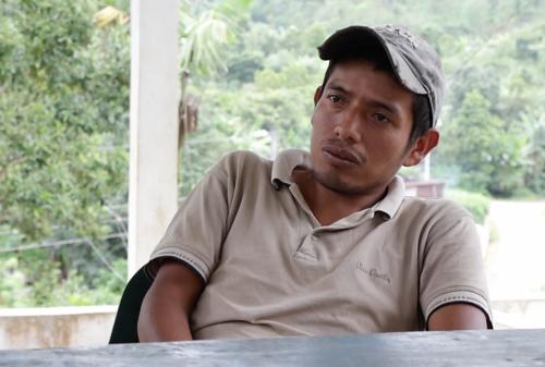 Jorge Antonio Chu es el secretario de la Cooperativa Nuevo Amanecer. (Foto: Alejandro Balán/Soy502)