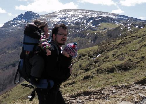 Christian Rodríguez comparte su pasión con su familia. (Foto: Christian Rodríguez)