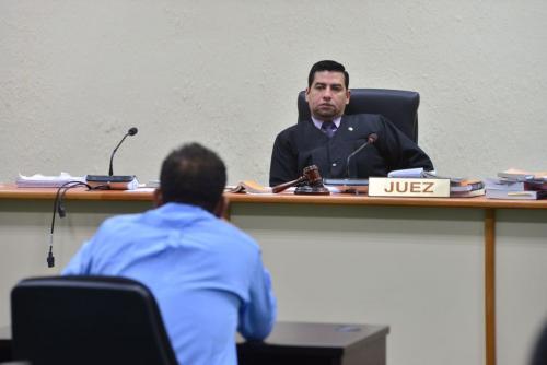 Carlos Guerra Jordán, titular del Juzgado Cuarto de Primera Instancia Penal. (Foto: Jesús Alfonso/Soy502)