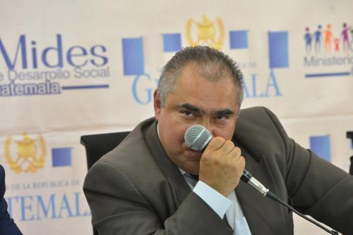 El equipo de viceministros se comprometió en público ha trabajar con la nueva autoridad. (Foto: Jesús Alfonso/Soy502)