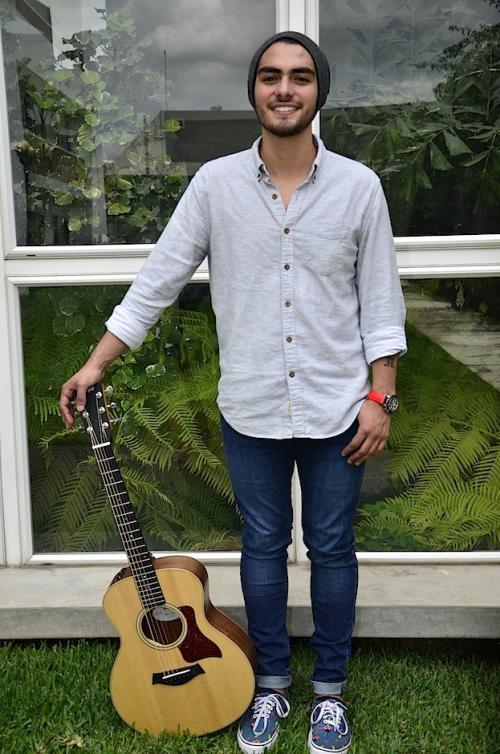 José Soto ha iniciado su carrera en la música y la llevará entre Estados Unidos y Guatemala. (Foto: Selene Mejía/Soy502)