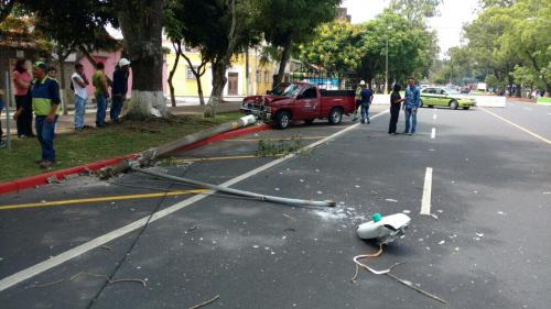 El accidente generó complicaciones en el sector. (Foto: Amilcar Montejo/PMT)