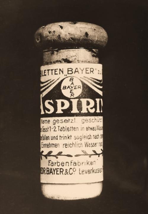 En 1987 Feliz Hoffman ideó la fórmula de la  Aspirina®, uno de los medicamentos más consumidos alrededor del mundo. (Foto: cortesía Bayer)