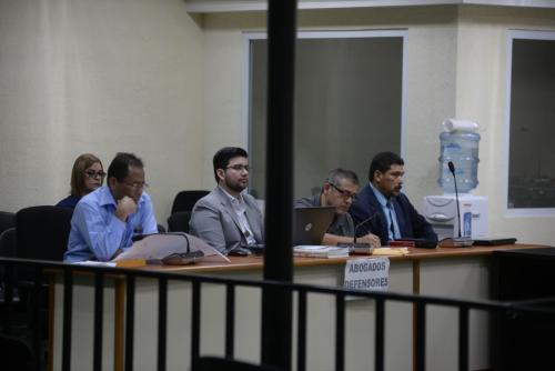 Se prevé que la audiencia continúe este domingo con la argumentación de los abogados defensores. (Foto: Wilder López/Soy502)