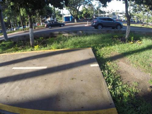 Ciclovía por la que deberán transitar estas bicicletas. (Foto: Fredy Hernández/Soy502)