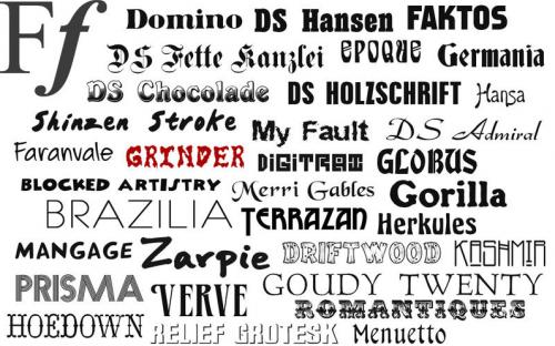 Expertos detallan que el tipo de letra puede revelar si una persona es anticuada, seria o informal, entre otras cosas. (Foto: Free Fonts/App)