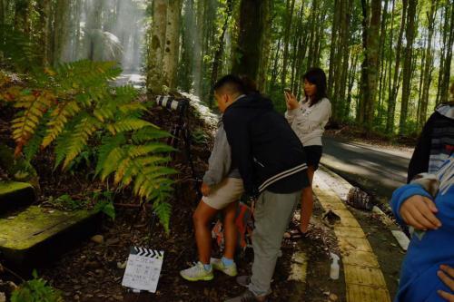 Josué da clases de cine a niños en situación de vulnerabilidad. (Foto: Josué Martínez)