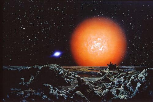 Antares es también conocida como Alfa Scorpii (Foto: Los Colores de la Noche)