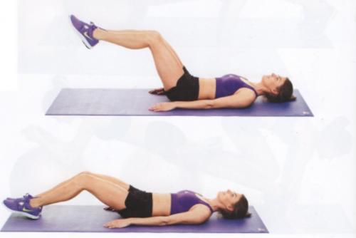 Recuerda usar un soporte entre tu cuerpo y el suelo (Foto: Pinterest)