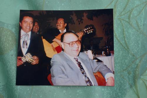 Don Mario Martínez es el hermano de don Hilman, con quien tiene conflicto por la casa. (Foto: Jesús Alfonso/Soy502)