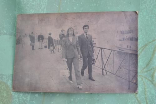 Esta es una imagen de don Hilman cuando era joven, junto a su segunda esposa. (Foto: Jesús Alfonso/Soy502)