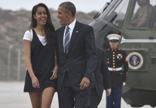 Malia es la primogénita de Barack Obama. (Foto: AFP)