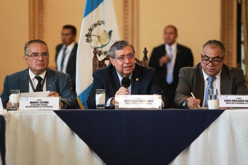 Jafeth Cabrera durante el Gabinete de Desarrollo de la semana pasada. (Foto: Gobierno)