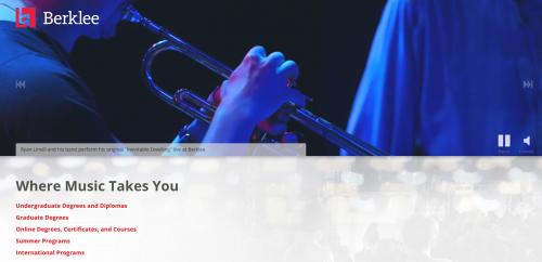 Berklee es una prestigiosa universidad musical en estados Unidos. (Foto: captura de pantalla)