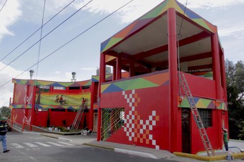 El servicio en los comedores volvió nuevamente este miércoles al mirador. (Foto: Fredy Hernández/Soy502)