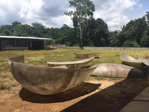 Proceso de construcción de la réplica del NuMu. (Foto: NuMu oficial)