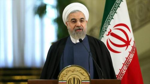 Hasan Rohani, presidente de Irán, uno de los primeros en oponerse al traslado de la sede diplomática de Estados Unidos a Jerusalén. (Foto: HispanTV)