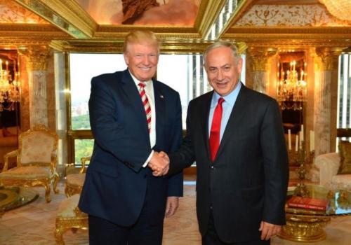 E primer ministro israelí Benjamín Netanyahu y el presidente Donald Trump se reunieron en febrero de este año. (Foto: jpost.com)
