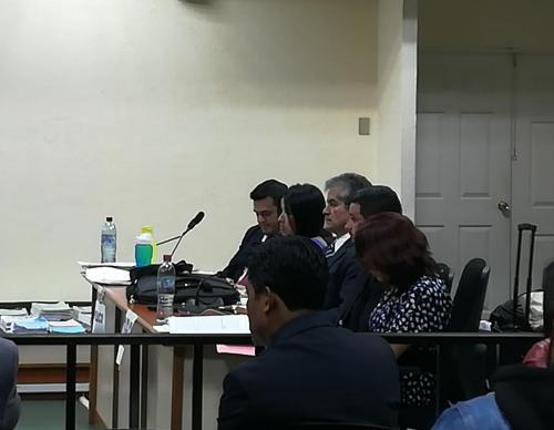 El representante de la Fiscalía, Carlos de León, dijo que, por ser una persona que creció en un pueblo, está acostumbrado a lidiar con ratones.
