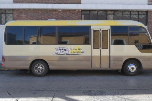 El bus recorrerá diferentes puntos de la ciudad. (Foto: Alejandro Balán/Soy502)