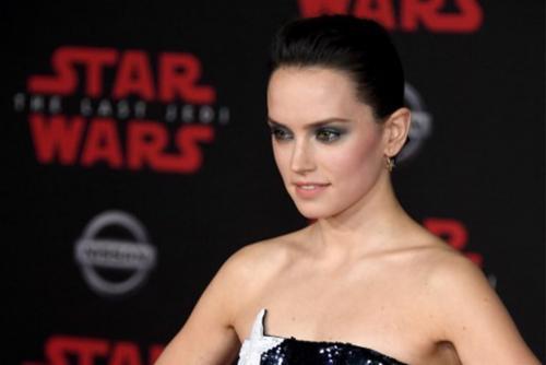 Daisy Ridley, interpreta el personaje de Rey (Foto: AFP)