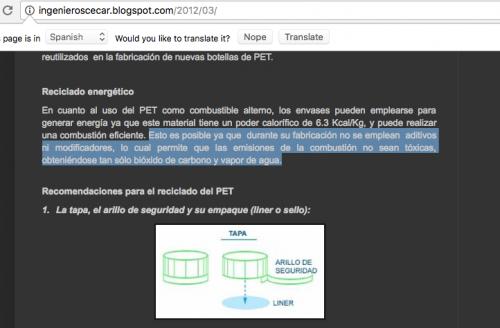 """La última estrofa del artículo 25 es un """"copy paste"""" de una publicación efectuada en el blog """"Ingenieros Cecar"""" del 26 de marzo de 2012. (Foto: captura de pantalla)"""