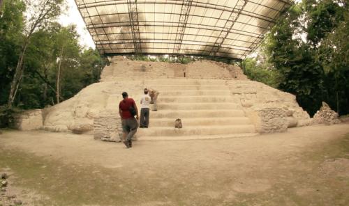 Esta estructura tiene un gran avance en los trabajos de restauración que han hecho los arqueólogos. (Foto: Fredy Hernández/Soy502)
